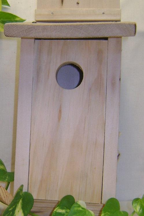 Handcrafted Wooden Bluebird House