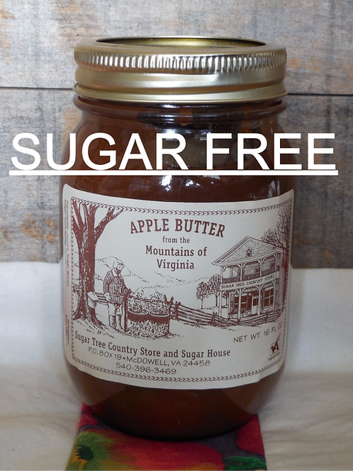 STCS - SUGAR FREE Apple Butter - Pint