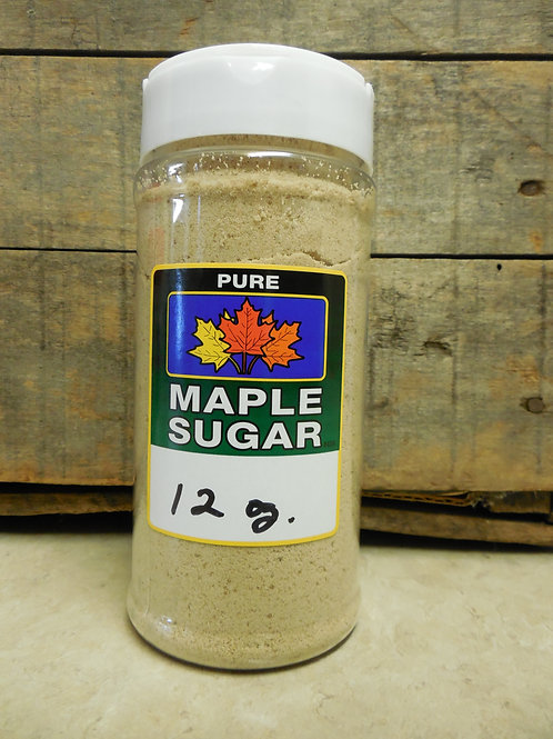 Pure Granulated Maple Sugar - 12 oz.