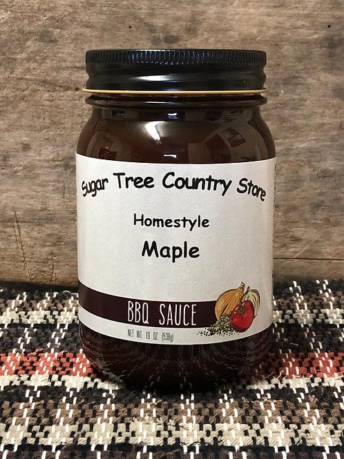Homestyle Maple BBQ Sauce - Pint