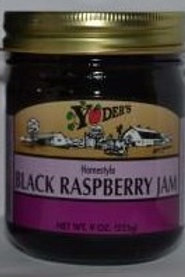 Homestyle Black Raspberry Jam - 1/2 pint