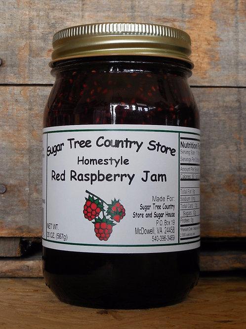 Homestyle Red Raspberry Jam - Pint