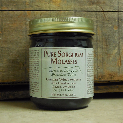 Pure Sorghum Molasses-Half Pint