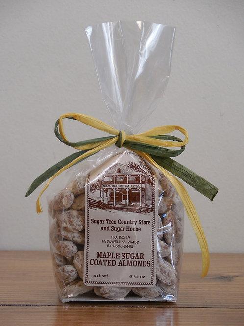 Maple Sugar Coated Almonds - 6.5 oz.