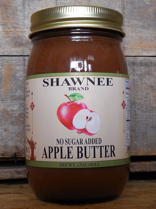 No Sugar Added Apple Butter - Pint