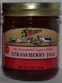 Homestyle Naturally Sweetened Strawberry Jam - 1/2 pint