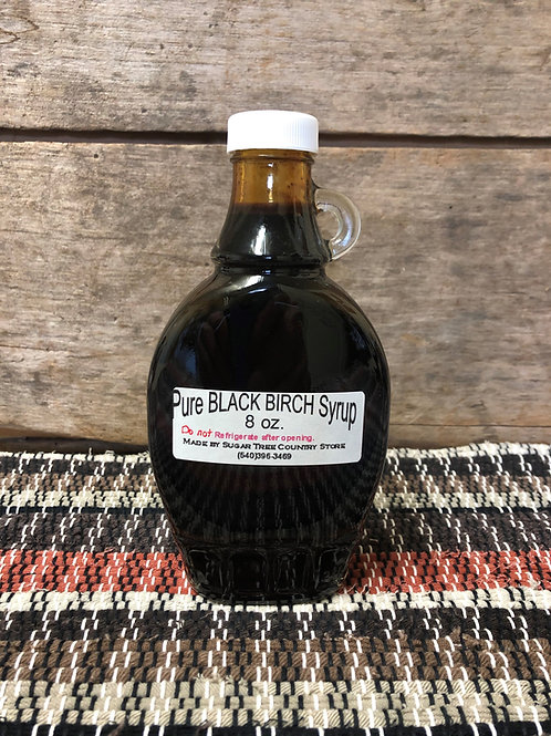 Pure Black Birch Syrup - 8 oz.