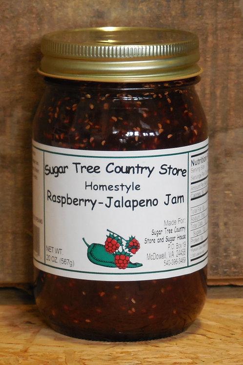 Homestyle Raspberry Jalapeno Jam - Pint
