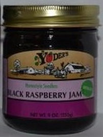 Homestyle Seedless Black Raspberry Jam - 1/2 pint