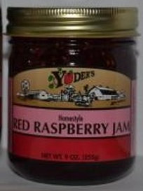 Homestyle Red Raspberry Jam - 1/2 pint