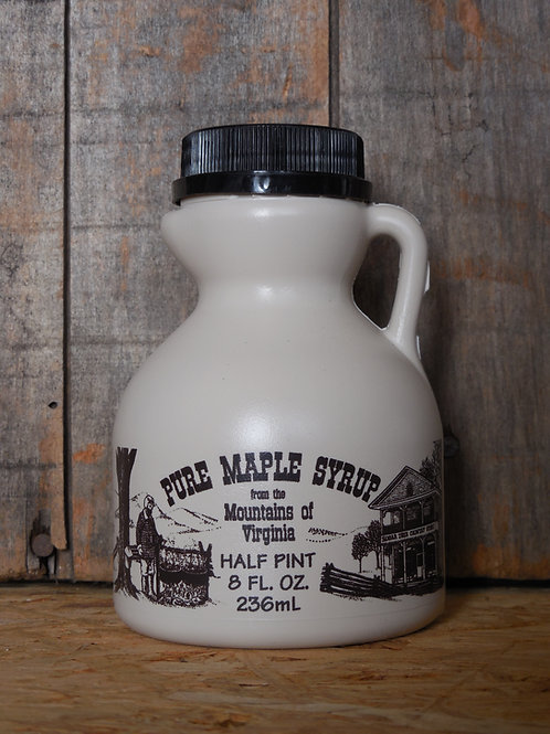 "Pure Maple Syrup(Grade ""A"" Very Dark Strong) - Half Pint"