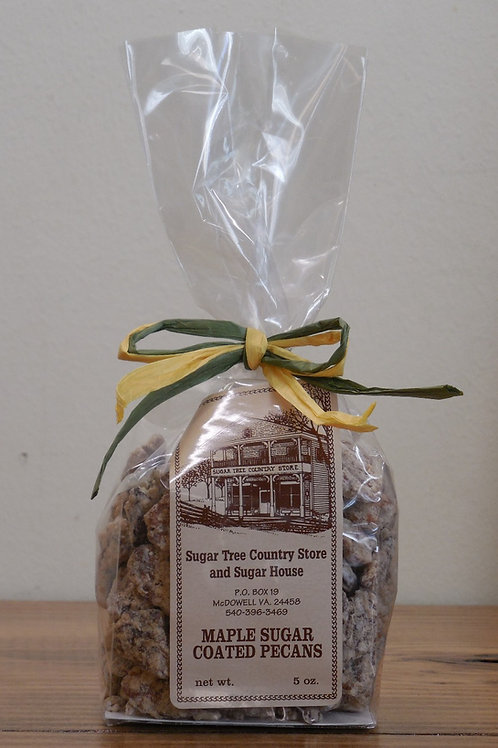 Maple Sugar Coated Pecans - 5 oz.