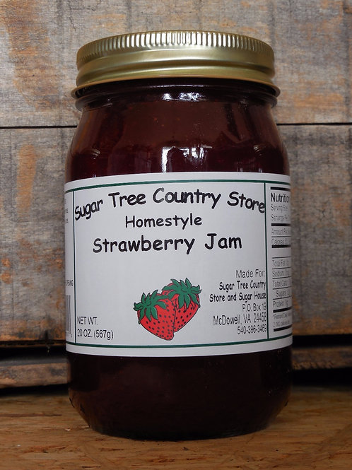 Homestyle Strawberry Jam - Pint