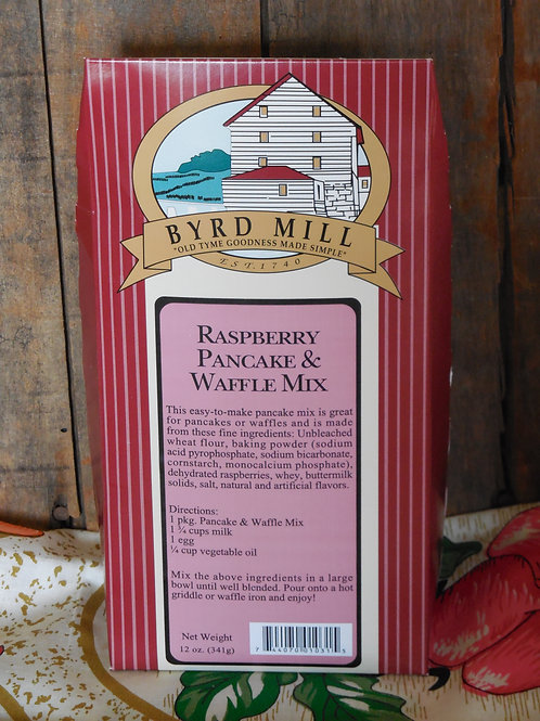 Raspberry Pancake & Waffle Mix - 12 oz.