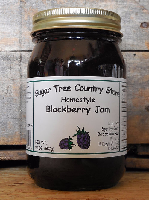 Homestyle Blackberry Jam - Pint