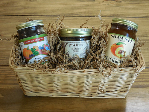Fruit Butter Gift Basket-Small
