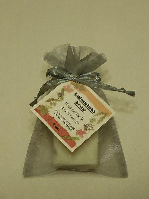 Handcrafted Calendula Bar Soap - 4 oz.