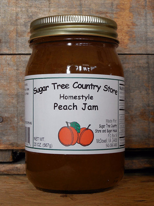 Homestyle Peach Jam - Pint