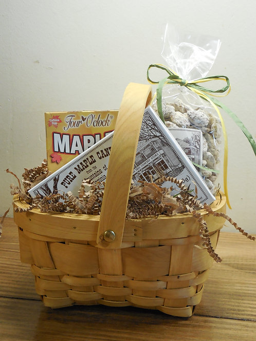 Maple Snack Gift Basket-Large