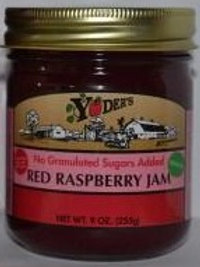 Homestyle Naturally Sweetened Seedless Red Raspberry Jam - 1/2 pint