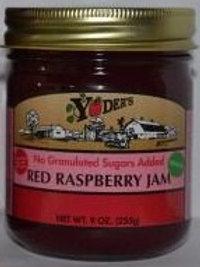 Homestyle Naturally Sweetened Seedless Red Raspberry Jam - 1/2 pint