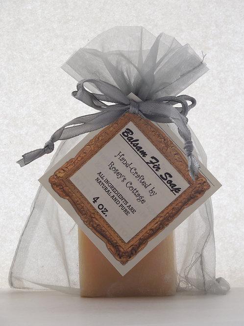 Handcrafted Balsam Fir Bar Soap - 4 oz.