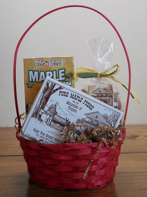 Maple Snack Gift Basket-Small