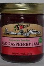 Homestyle Seedless Red Raspberry Jam - 1/2 pint