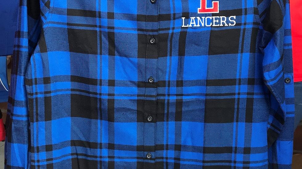 Ladies' Blue Flannel