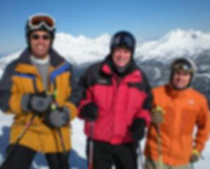 Dr. Salari, Dr.Olin, & Dr Porter Skiing Dentists
