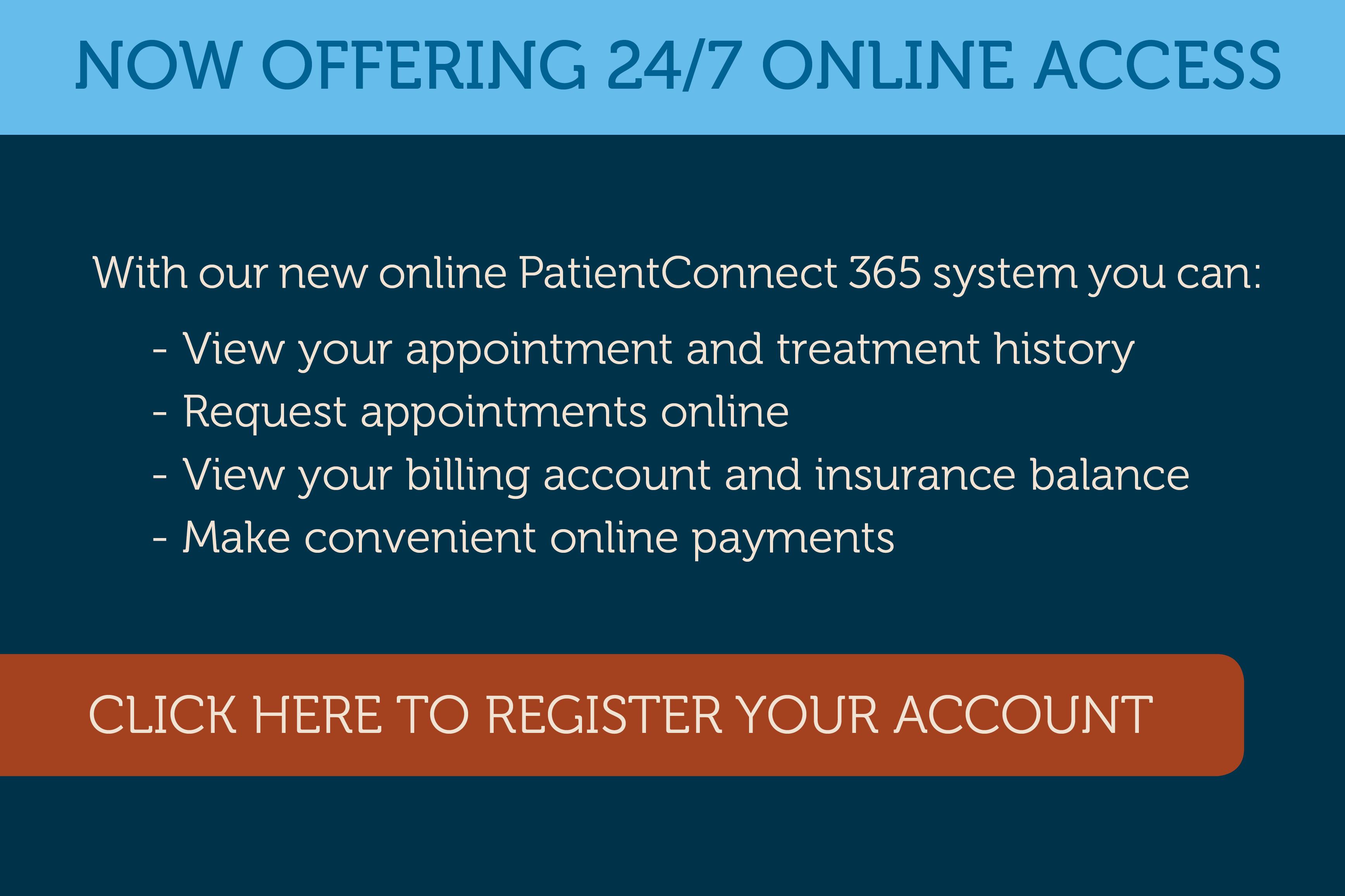 PatientConnect Online Portal