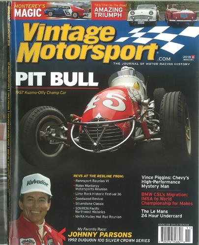 Vintage Motorsport Nov/Dec. 2018
