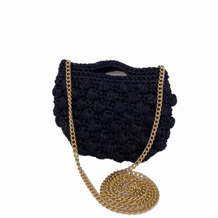 Umhängetasche mini schwarz - Caterina Bertini - Art.3929