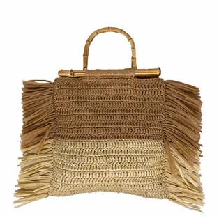 Tasche mit Fransen - Caterina Bertini - Art.4585