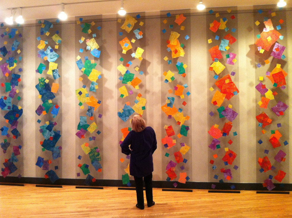 2012 - In Circulation - Regis College Carney Gallery Installat