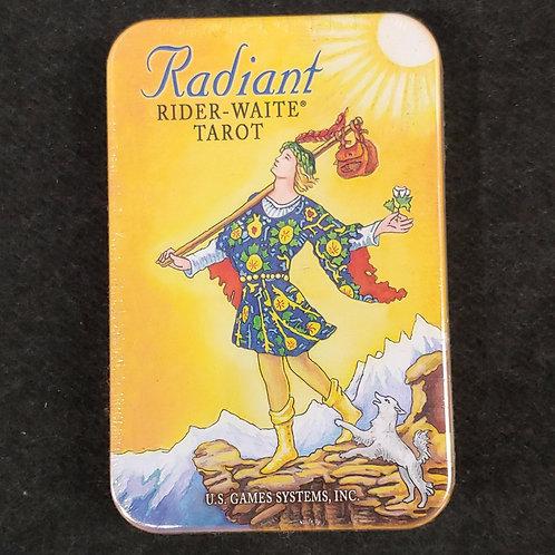 RADIANT RIDER-WAITE TAROT IN TIN