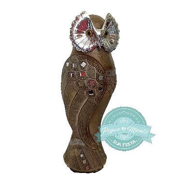 Coruja de Cerâmica