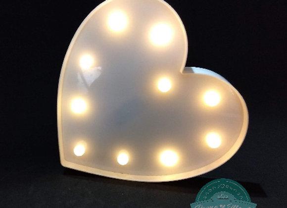 Coração de LED