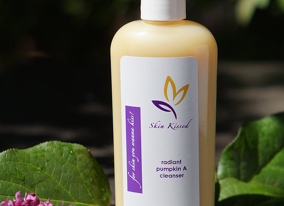 Skin Kissed Radiant Pumpkin A Cleanser  8 oz. On sale now!