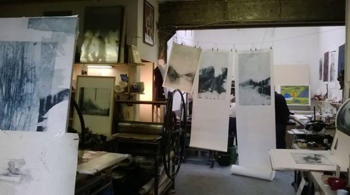Cours de gravure taille douce à l'atelie