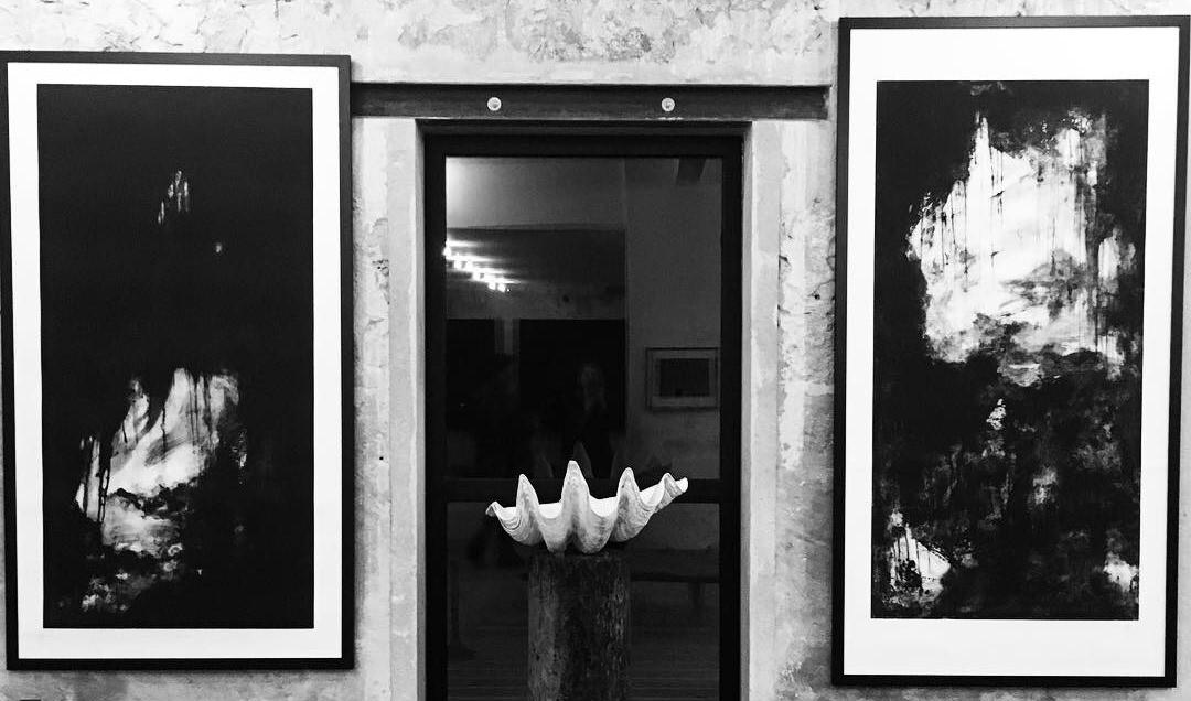 Exposition Noirs et blancs à 'oauvre. Commissariat C. Cadu Narquet. Photo C.Pagnussatt.