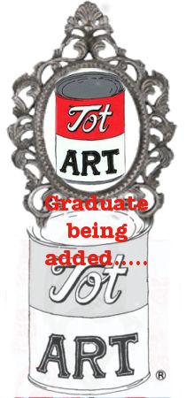 Tot Art pre-school graduate