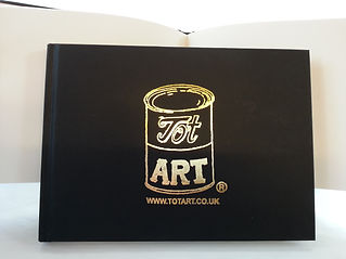 Tot Art sketchbook