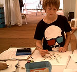 Tot Art workshop