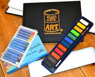 Tot Art materials