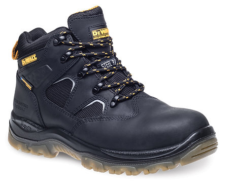 Black Waterproof Safety Hiker