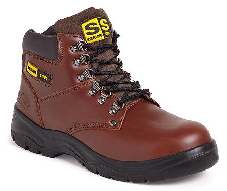 Brown 6 Eye Hiker Boot