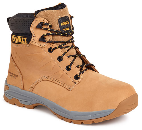 Wheat Nubuck Safety Boot