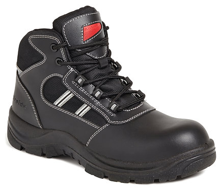 Unisex Black Non-Metallic Safety Hiker