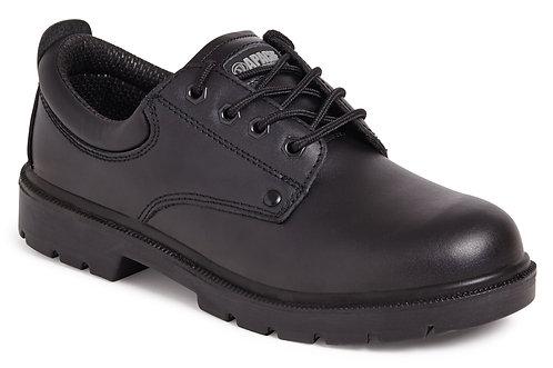 Black 4 Eye safety Shoe